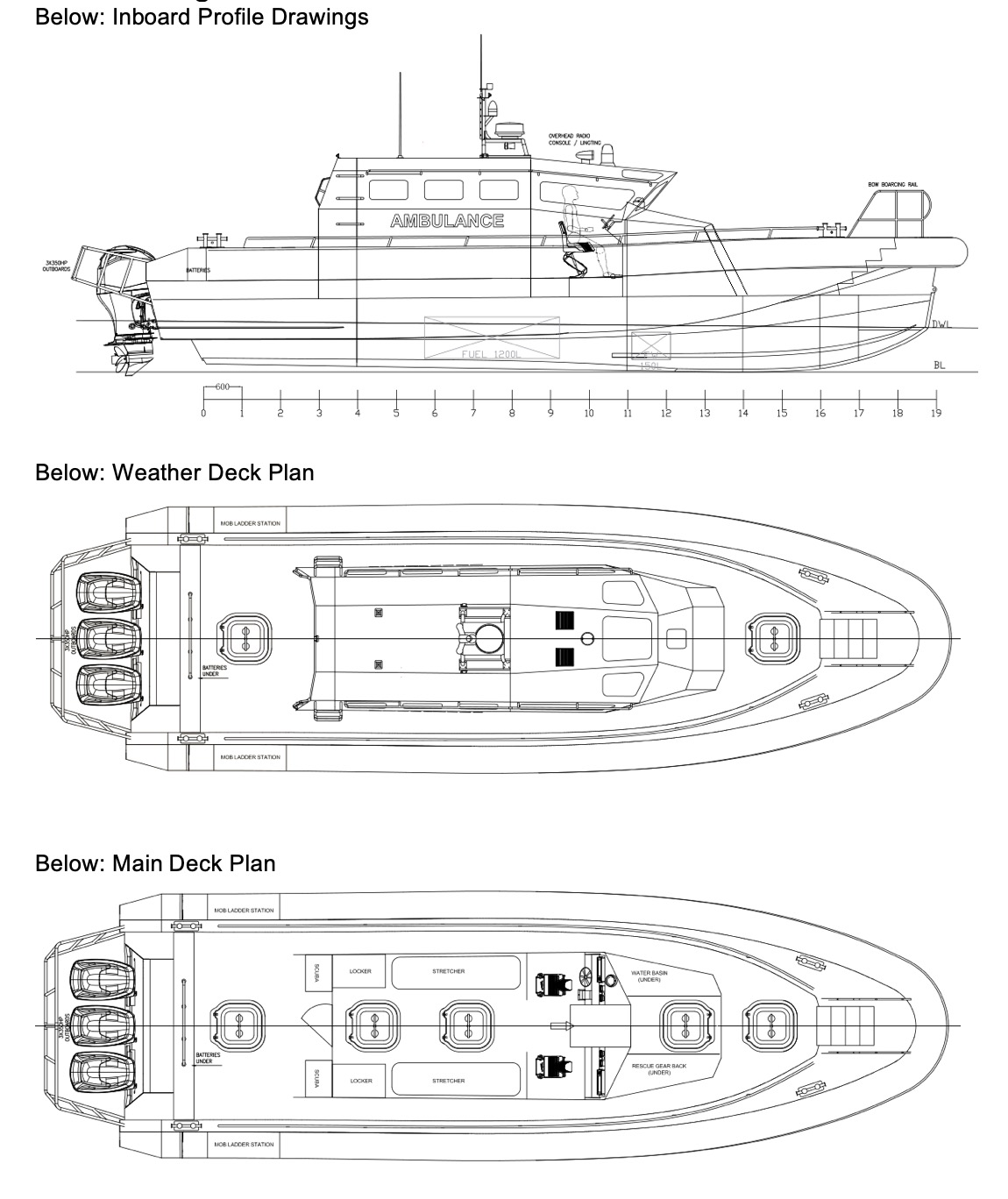 1753: NEW BUILD - 13.8m Fast Rescue and Ambulance Boat - 090.jpg