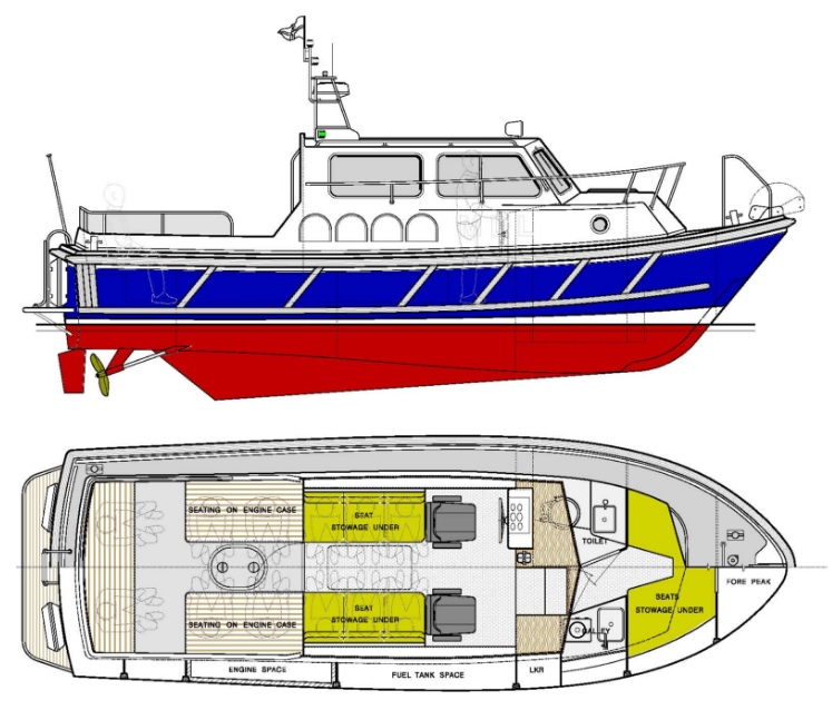 2014: NEW BUILD - 29ft Harbour Launch and Harbour Pilot Boat - 096.jpg
