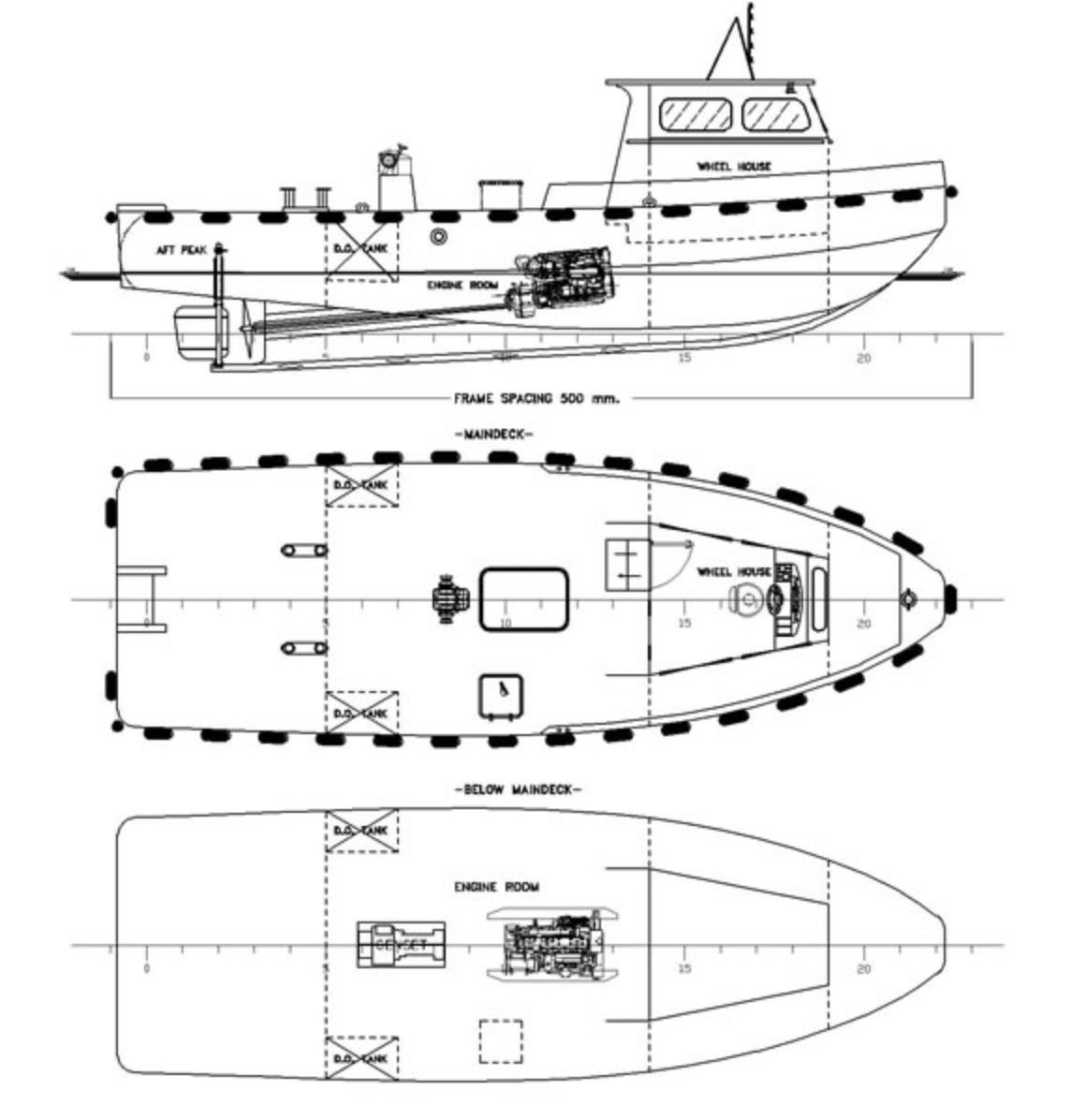 4106: NEW BUILD - 12m Mooring Boat - 095.jpg