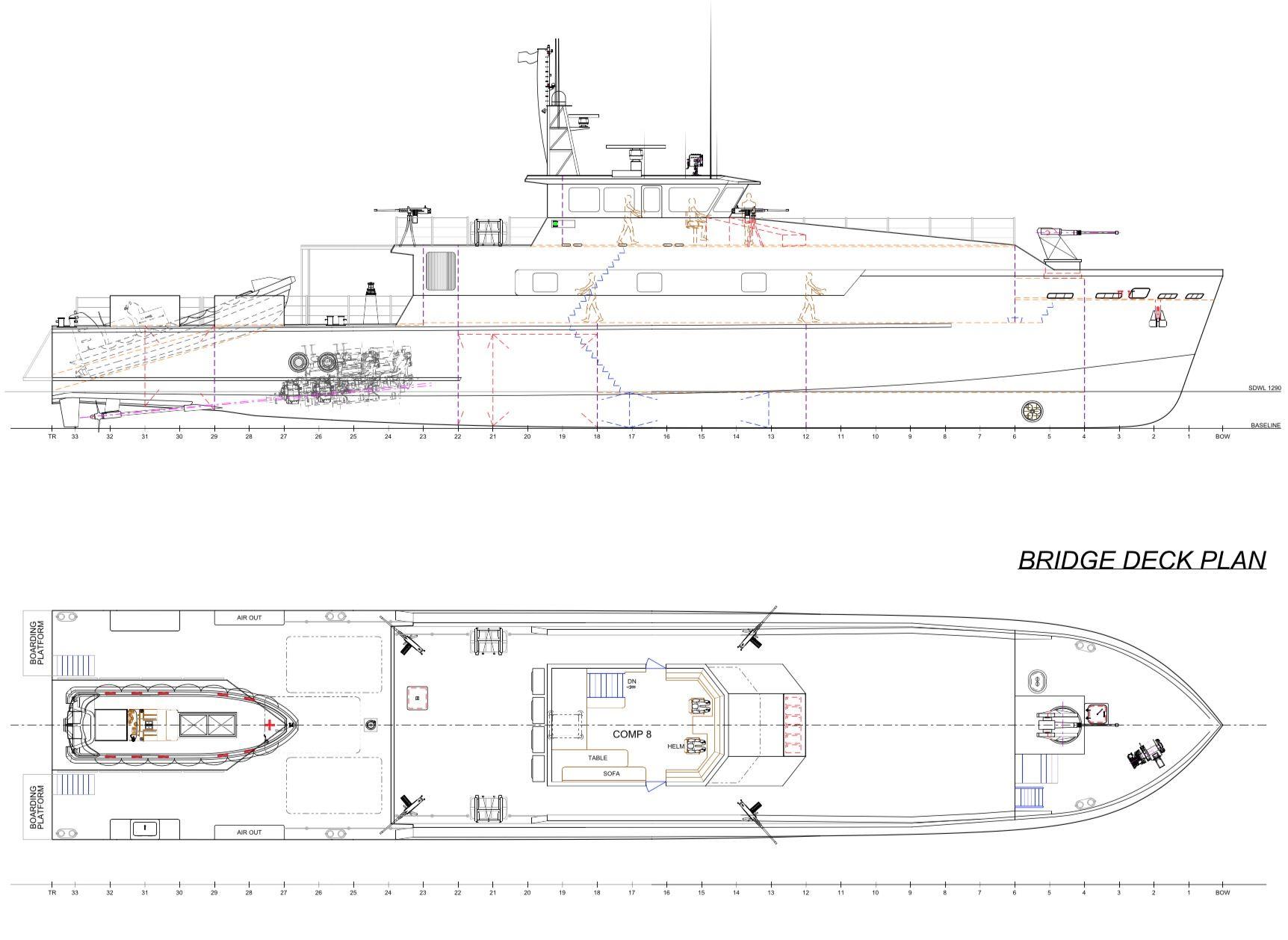 New Build - 40m Raptor Offshore Patrol Vessel