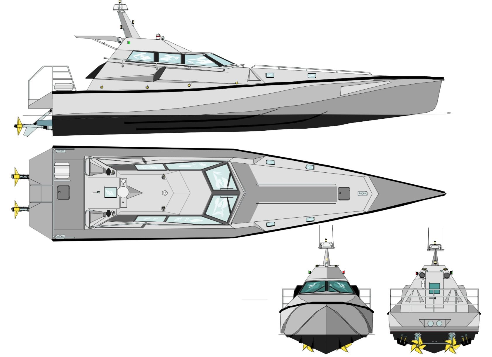 4159: NEW BUILD - XSV 17 High Speed Interceptor / Patrol Vessel - 096.jpg