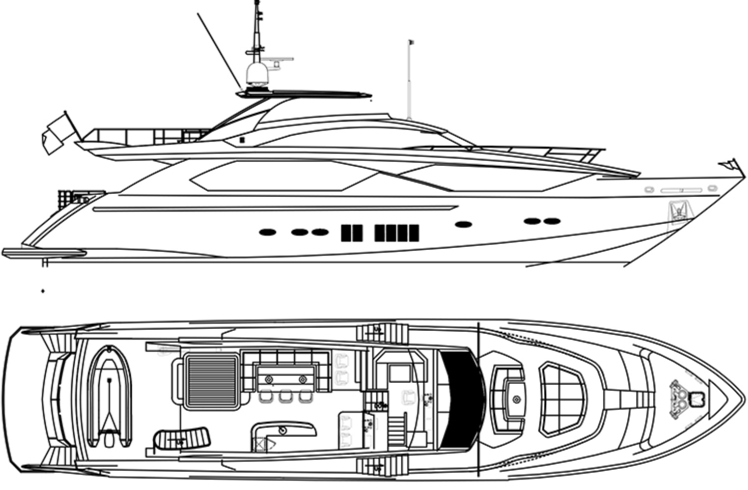 4166: New Build - Kingbay 1080 - 32.9m Motoryacht - 095.jpg